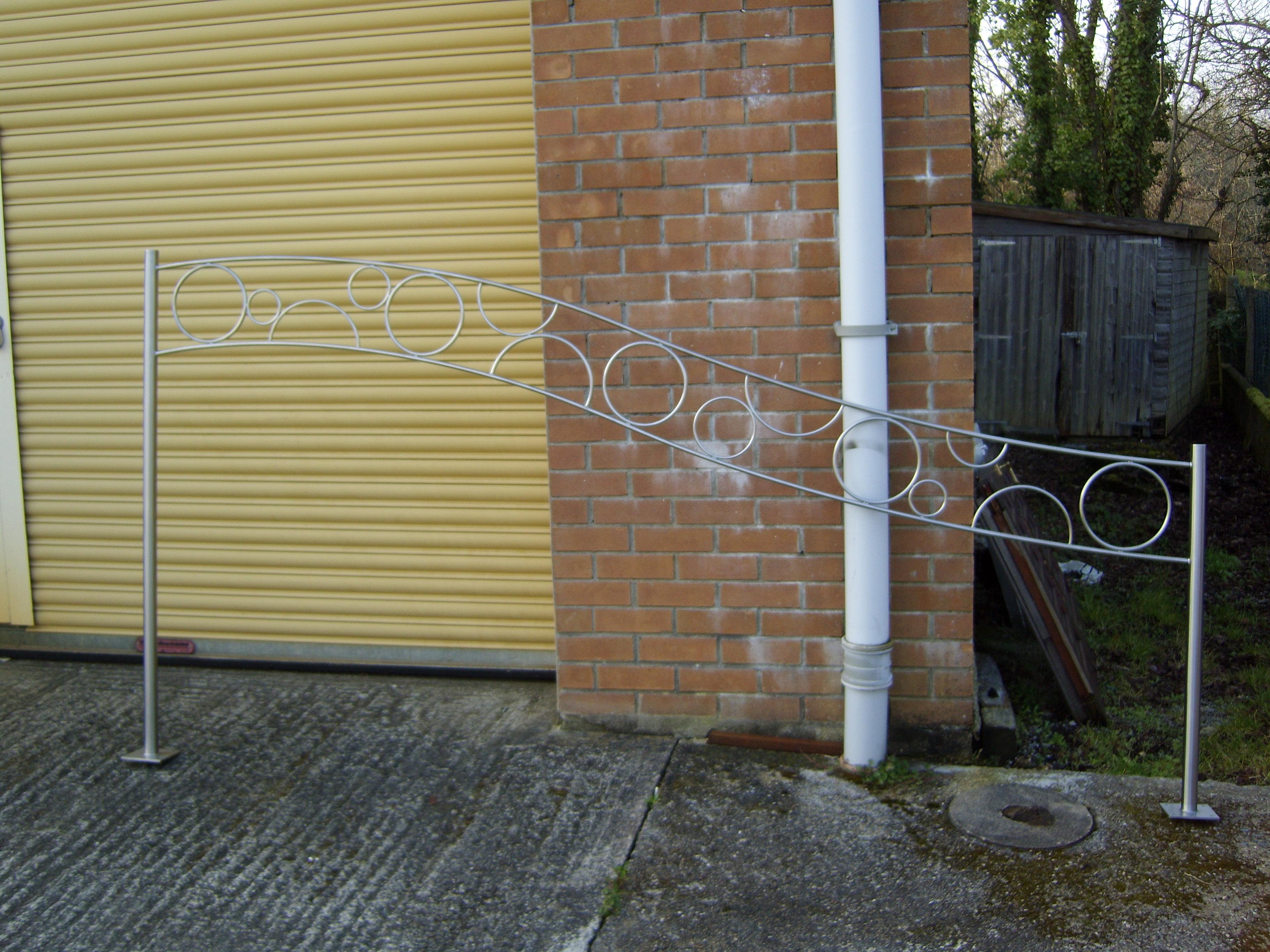 steel gate panel