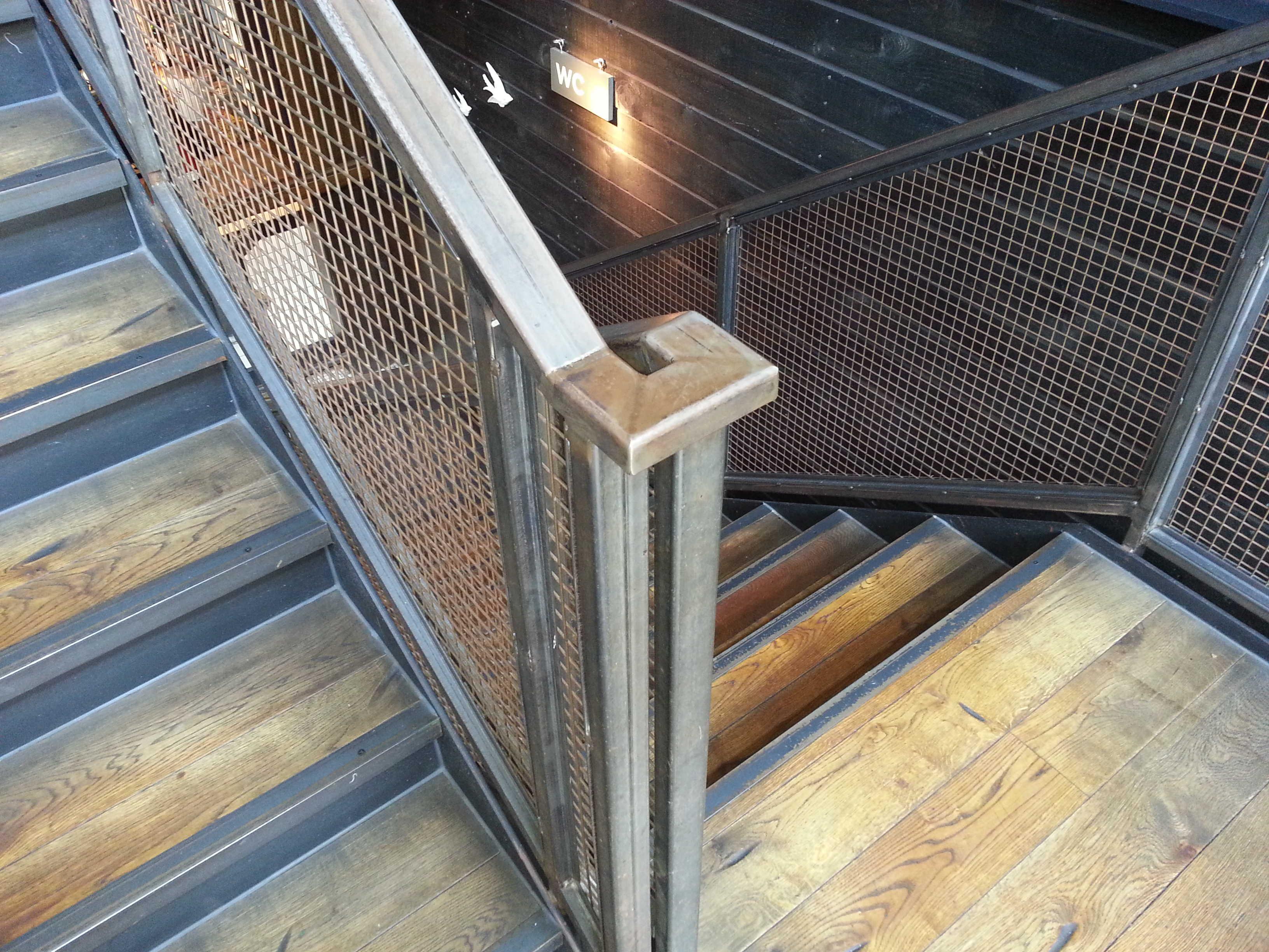 stairwell railing
