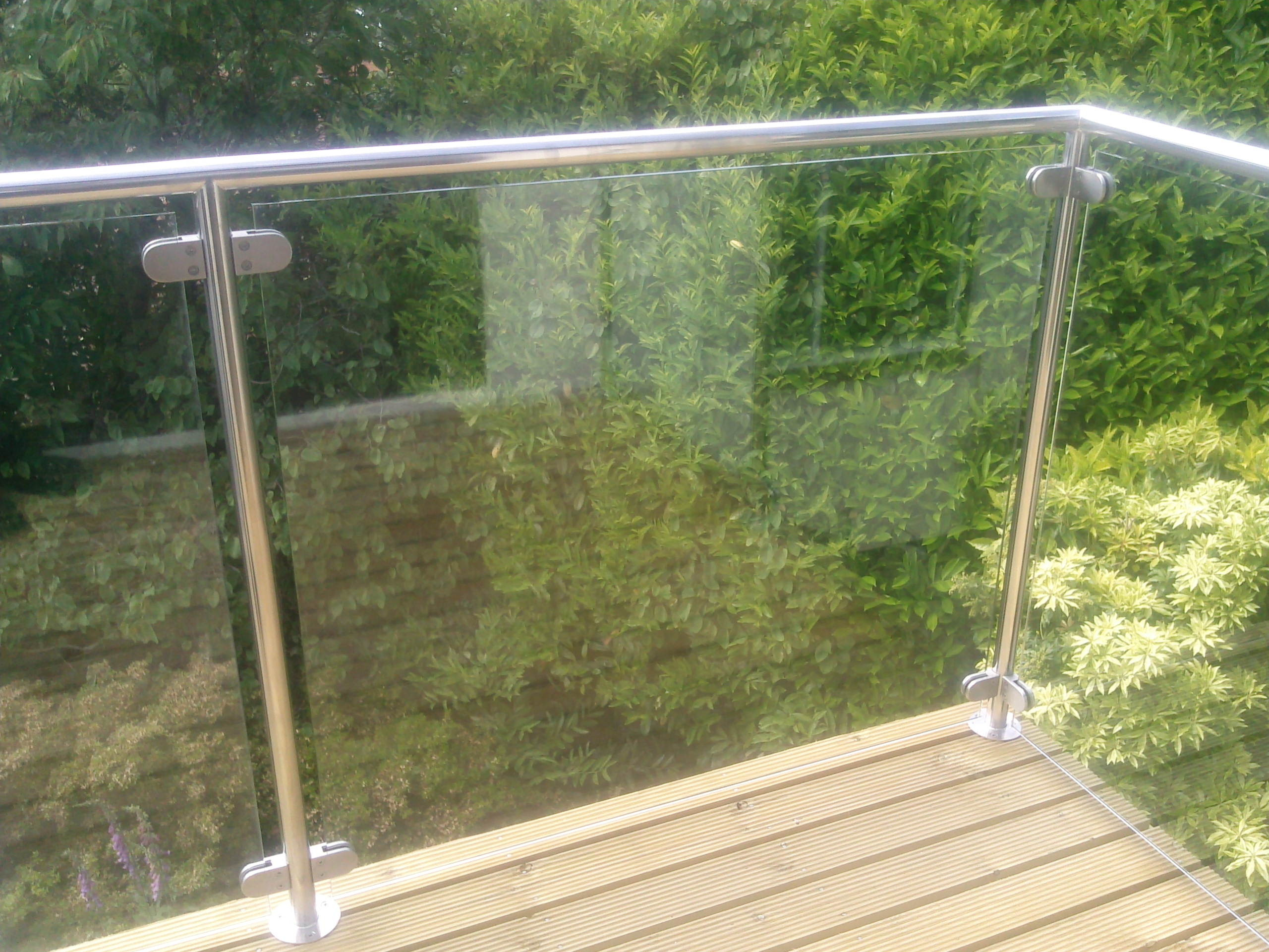 steel balustrade