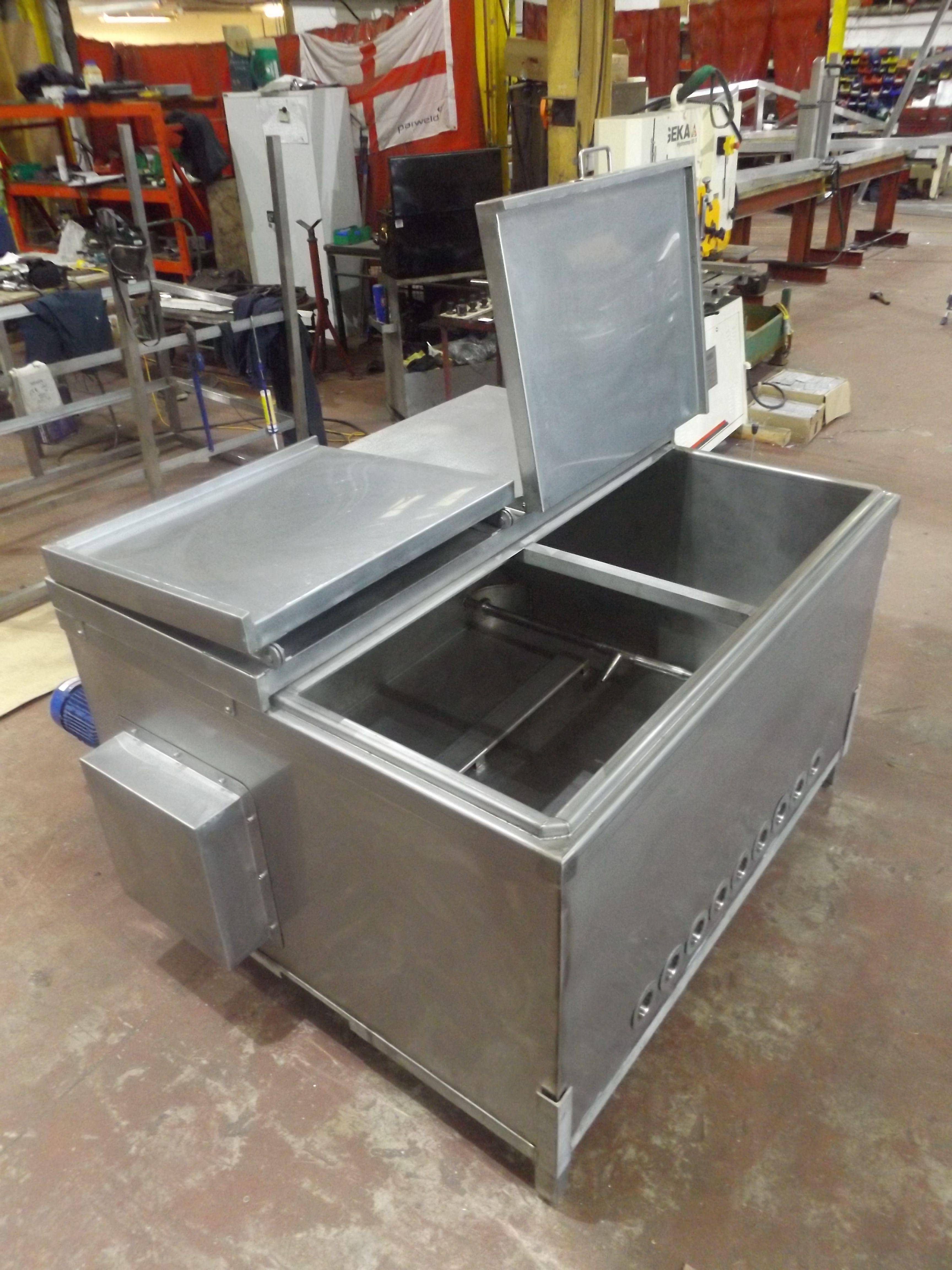 steel fryer