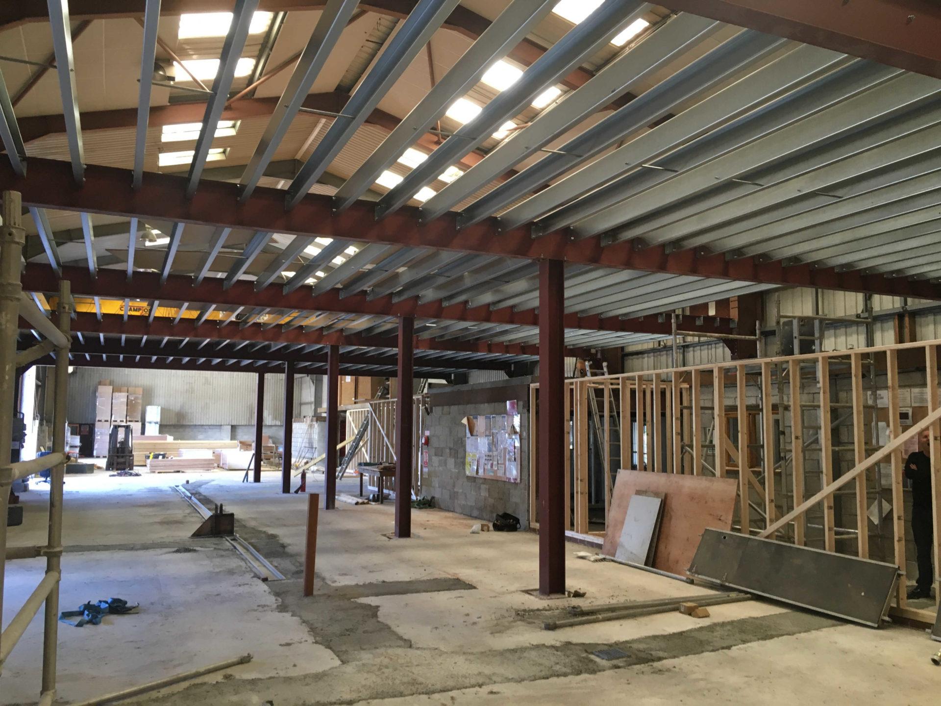 Mezzanine Floor Structural Steel Structural Steel ...
