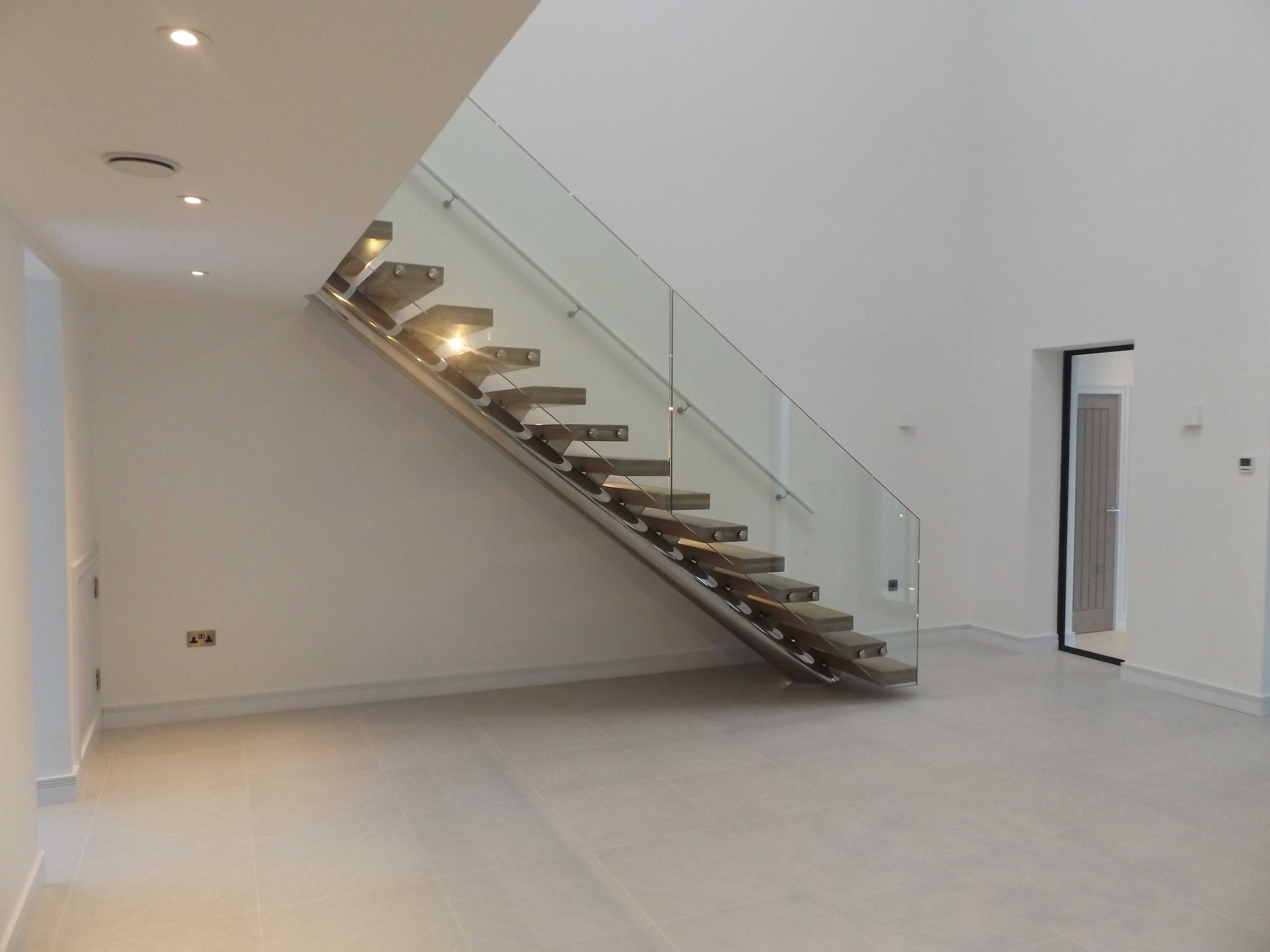 steel frame staircase
