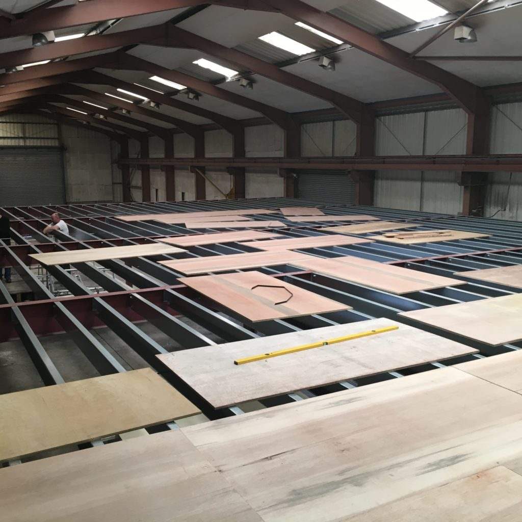 structural steel flooring