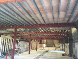 mezzanine floor structural steel
