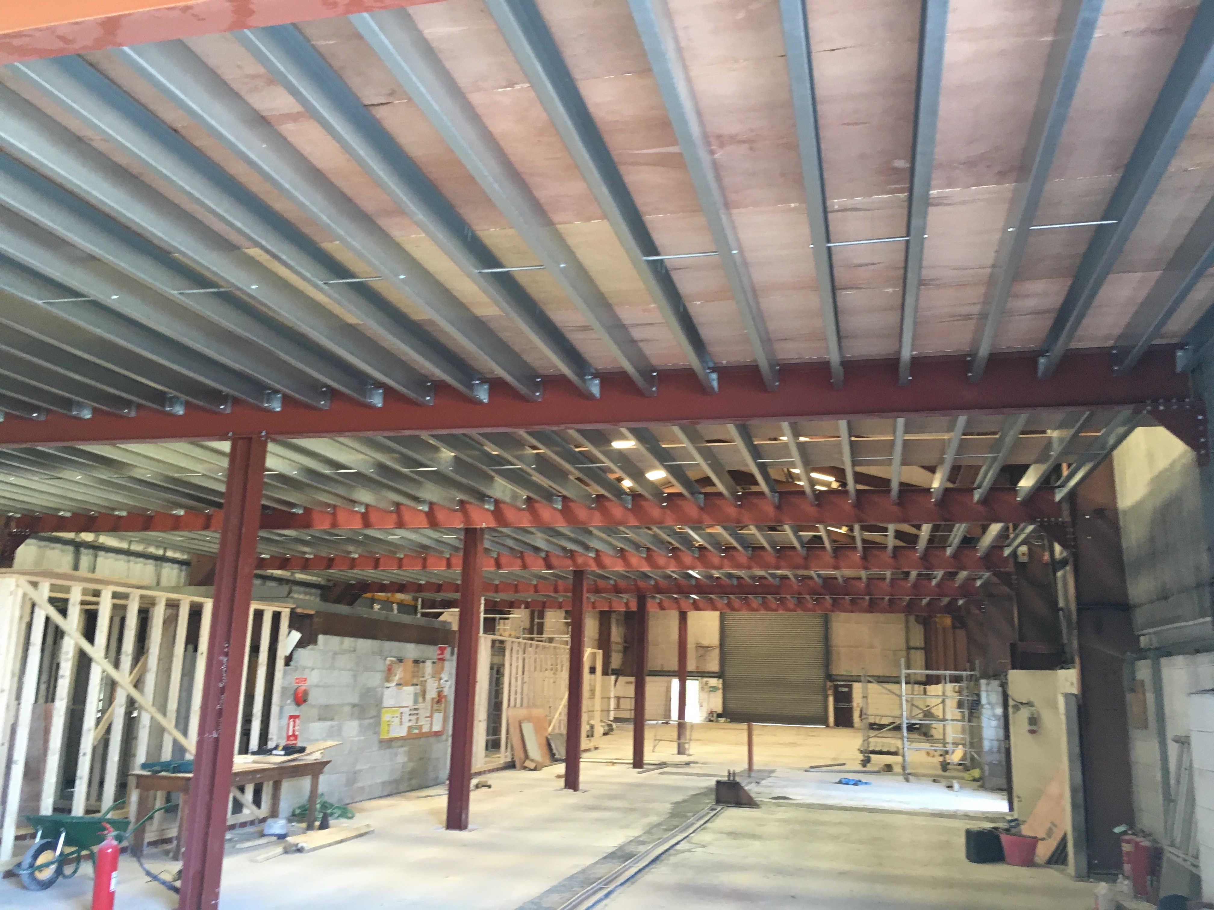 Mezzanine Floor Metal Surgery Projects Mezzanine