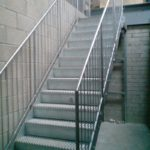 fitted steel staircase