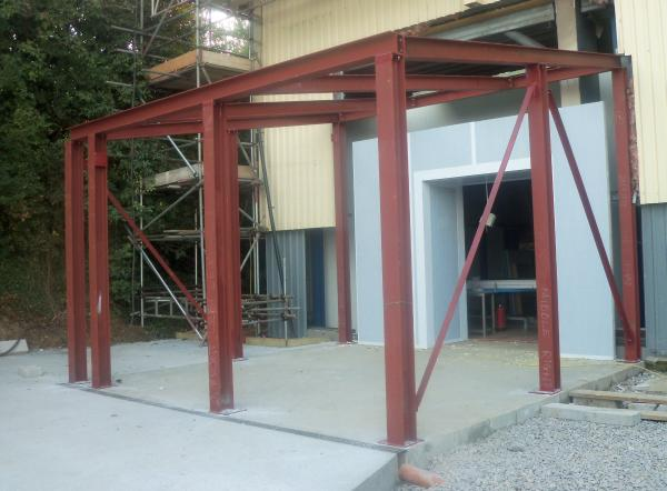 structural steel frame