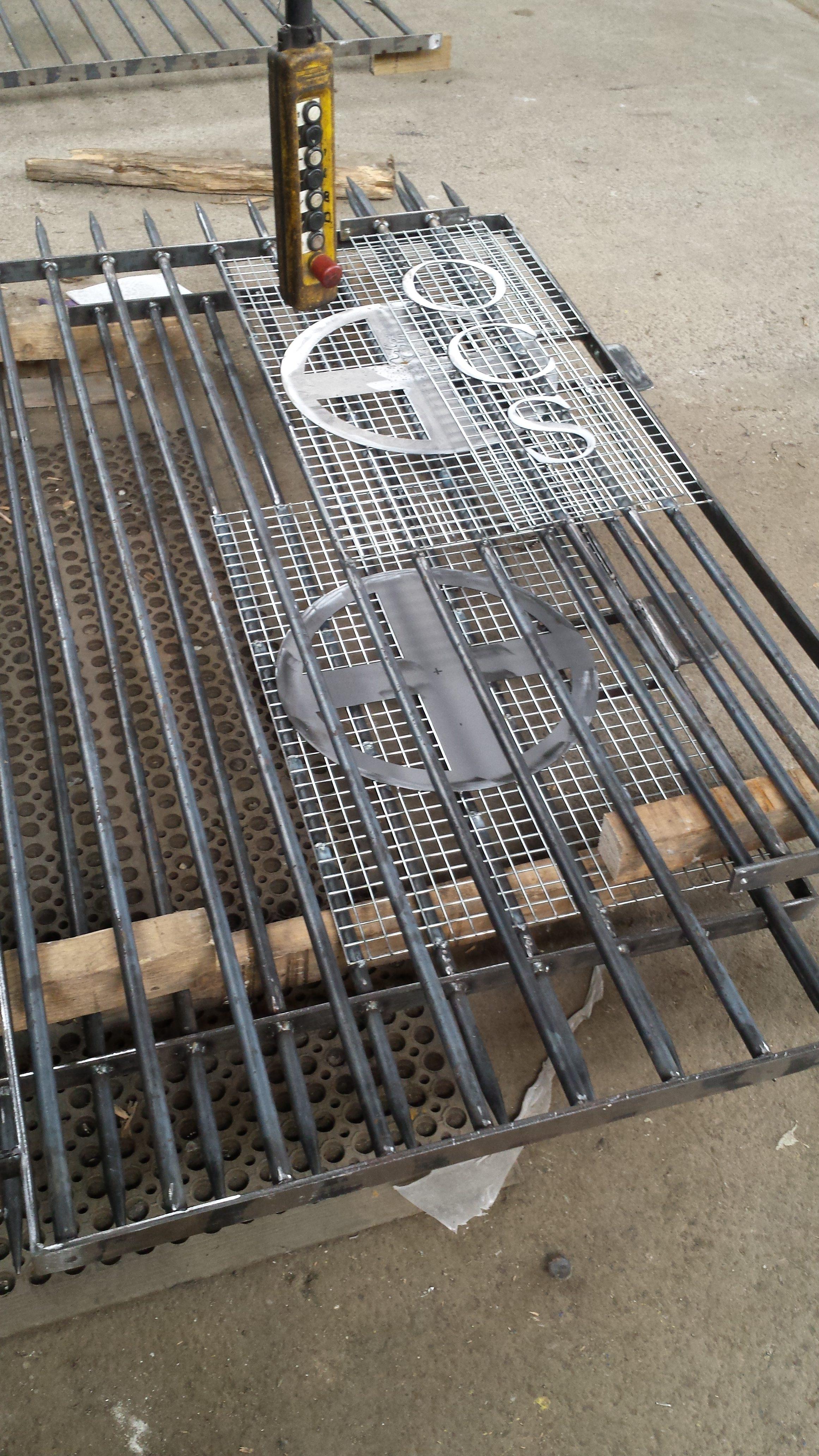 gate work in progress