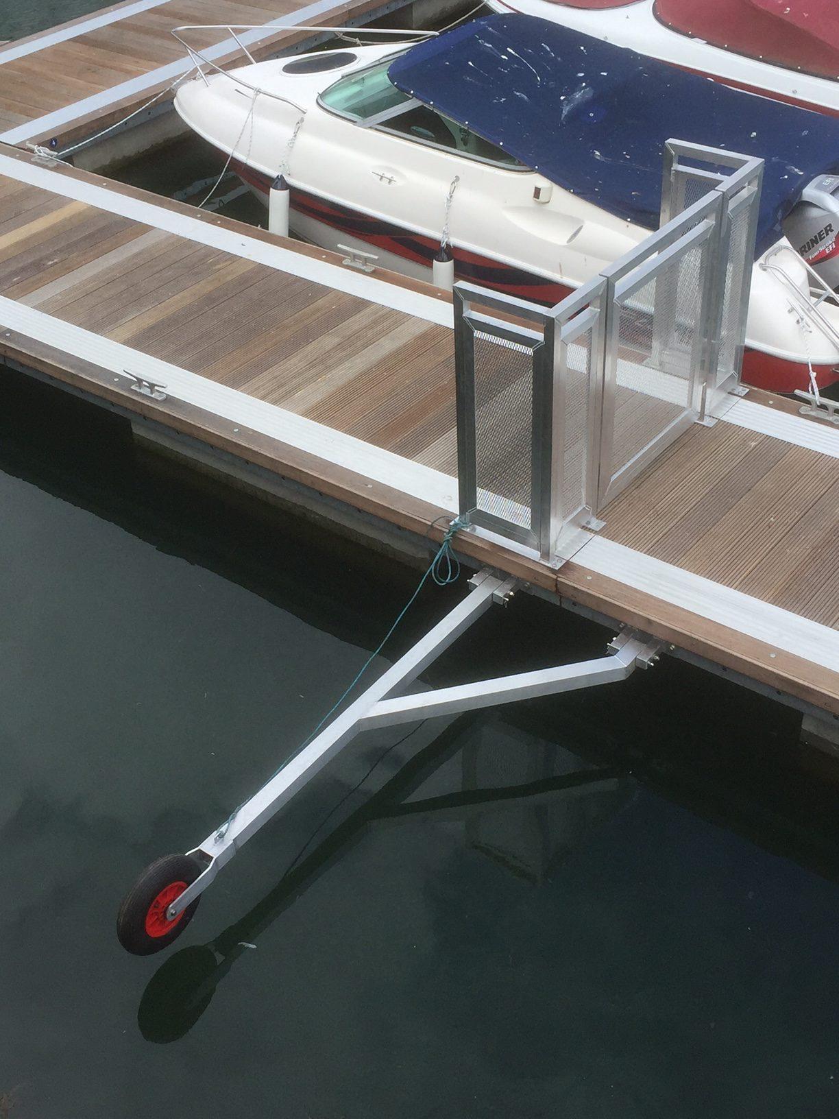 pontoon gates