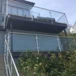 two storey balustrading
