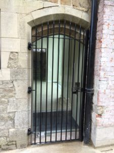 Old Catherdral School Gate finished