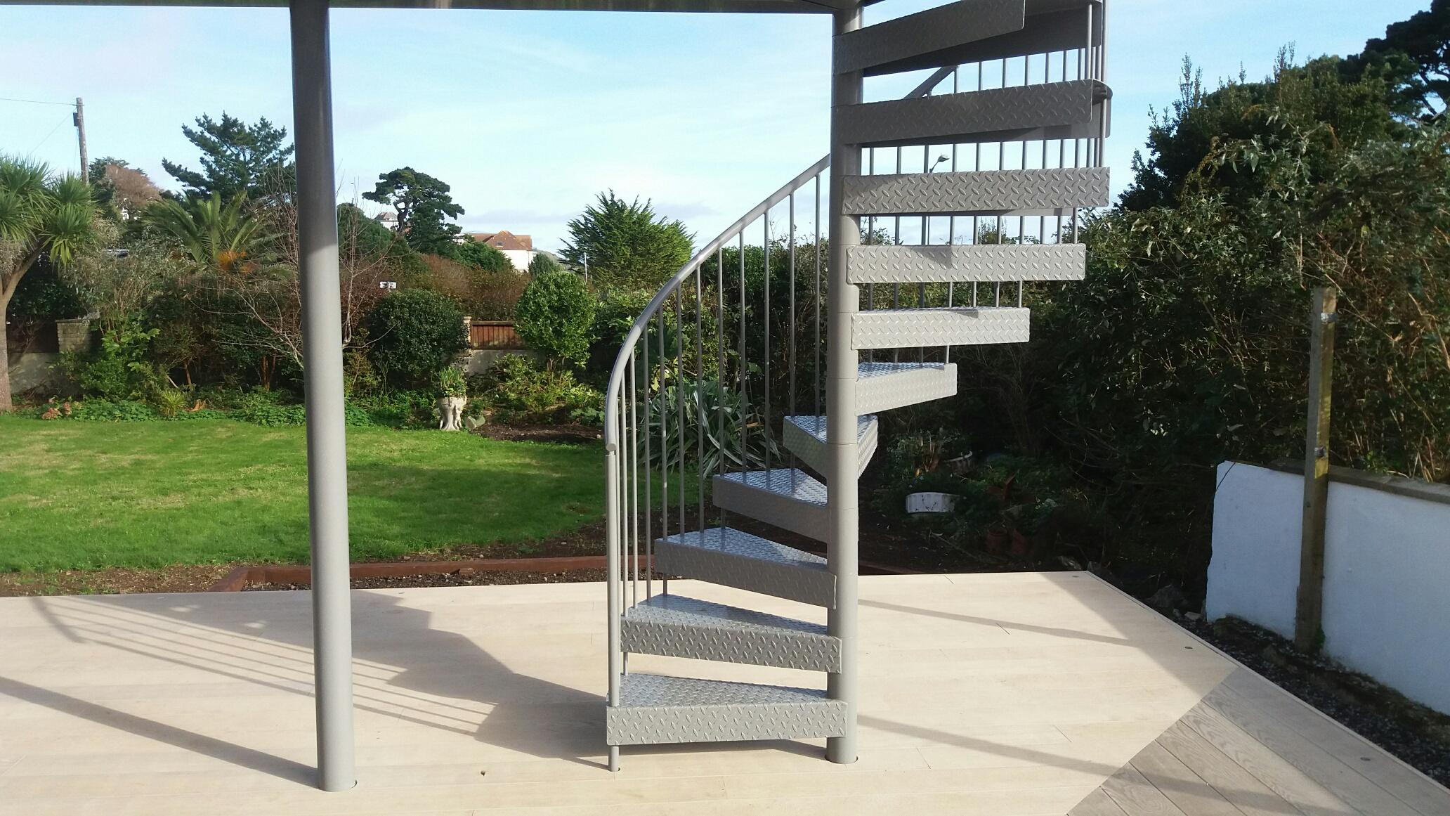 Spiral Staircase at Spernen Wyn