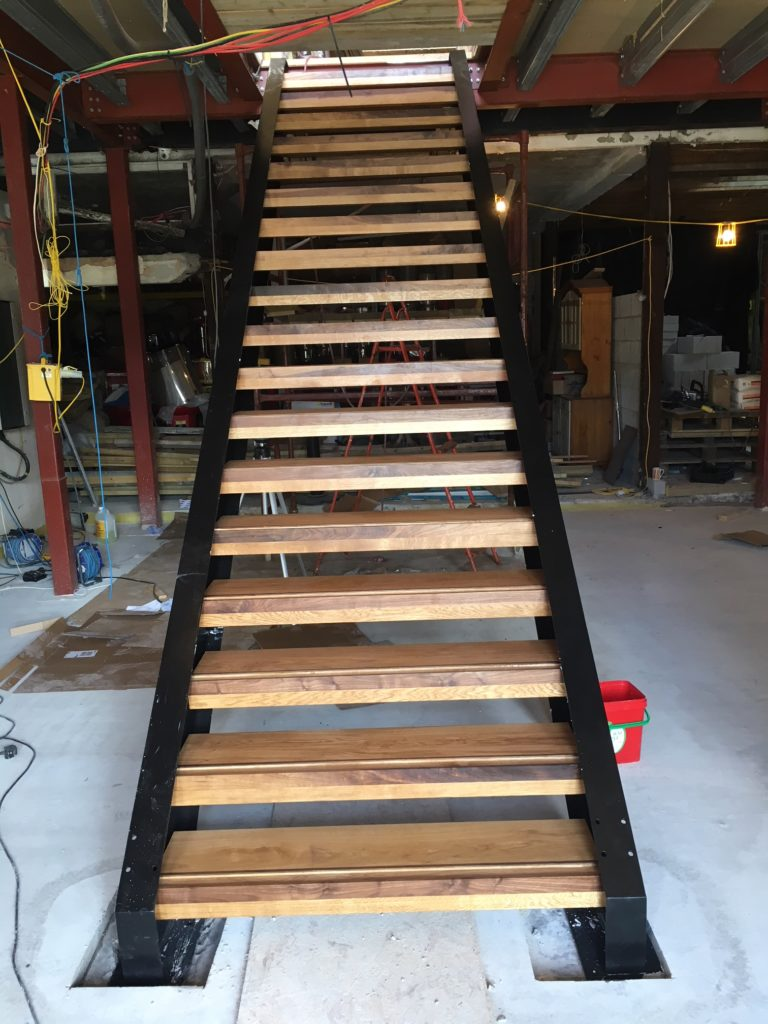 food factory staircase